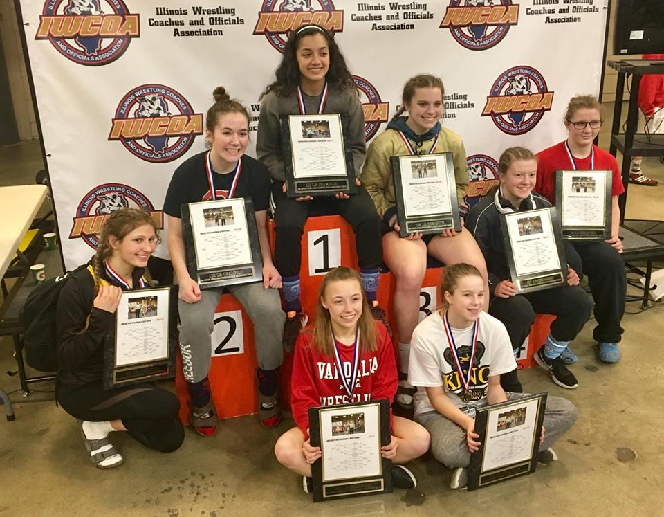 2018 IWCOA Girls HS State Champions