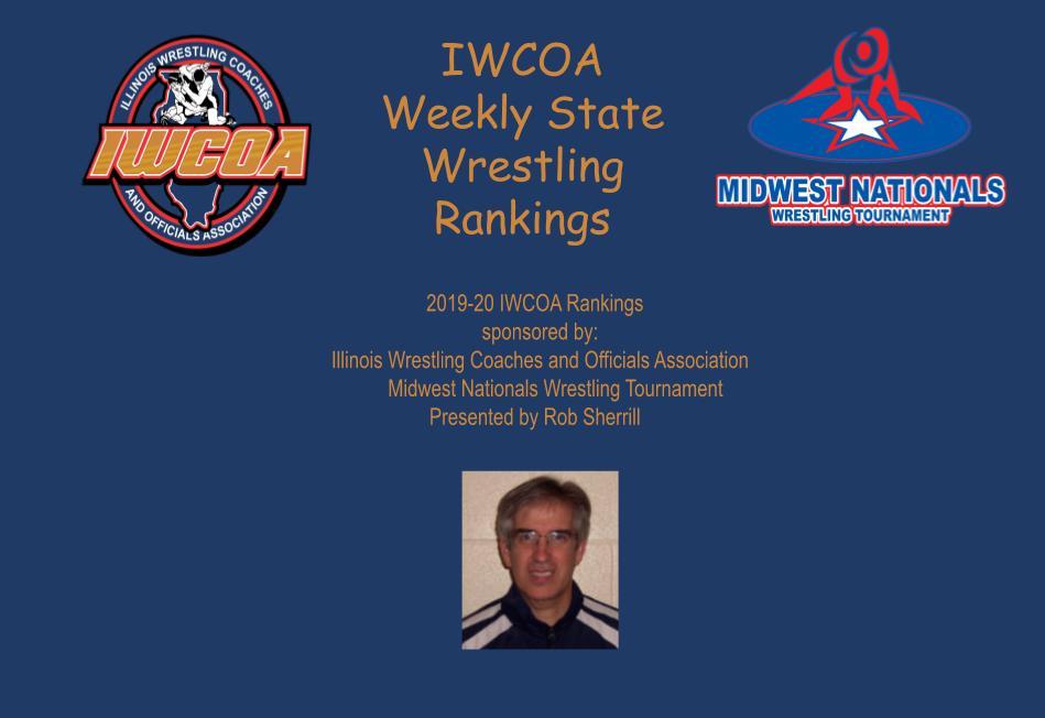 Wrestling tournament logo